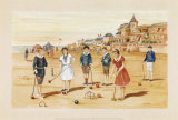 Une Partie de Croquet Prints by Laurence David