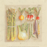 Vegetables I, Asparagus Posters by Laurence David
