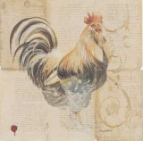 Le Coq Poster by Pascal Cessou