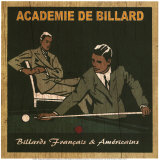 Academie de Billard II Prints by Philippe David