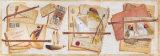 Trompe l'Oeil au Tarot Posters par Pascal Cessou