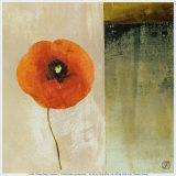 Red Poppies I Posters by Philippe Paput