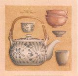 Teekanne III Kunstdrucke von Laurence David