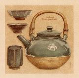 Teegeschirr IV Kunstdrucke von Laurence David