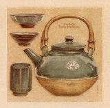 Tea Pot IV Print by Laurence David