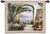 Rose Arch Wall Tapestry by Peter Bell