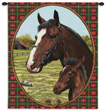 Cheval Wall Hanging Wall Tapestry