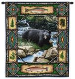Pabellón con oso Tapiz