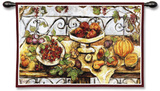 Harvest Table Wall Tapestry by Nicole Etienne