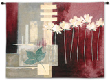 Contemporary Crimson II Wall Tapestry by Carol Robinson