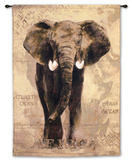 African Voyage I Wall Tapestry by Gosia Gajewska