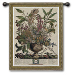 Jan Botanical Wall Tapestry by Robert Furber
