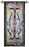 Celtic Design II Wall Tapestry by Abigail Kamelhair
