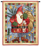Waiting For Xmas Wall Tapestry by Diane Knott