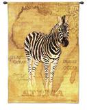 African Voyage II Wall Tapestry by Gosia Gajewska