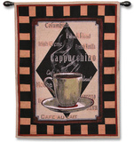 Cappachino Time I Wall Tapestry