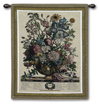 June Botanical Wall Tapestry by Robert Furber