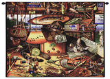 Max in the Adirondacks Wall Tapestry by Charles Wysocki