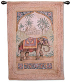 Old World Elephant I Wall Tapestry by Debra Swartzendruber