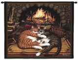 All Burned Out Wall Tapestry by Charles Wysocki