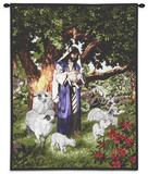Psalm 23 Wall Tapestry by Raoul Vitale