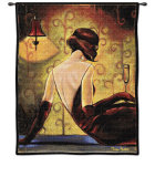 After Eight Wall Tapestry by Trish Biddle