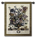 April Botanical Wall Tapestry by Robert Furber