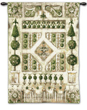 Garden Gate Wall Tapestry by Elizabeth Jardine