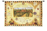 Hilltop Winery Wall Tapestry by Elizabeth Jardine
