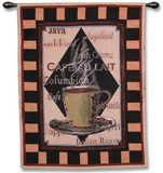 Cappachino Time II Wall Tapestry