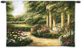 Rose Garden II Wall Tapestry by Betsy Brown