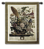 Aug Botanical Wall Tapestry by Robert Furber