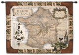 French Wine Country Wall Tapestry