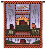 Joyful Home Wall Tapestry by Billy Jacobs