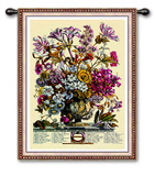 Oct Botanical Wall Tapestry by Robert Furber