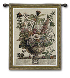 Dec Botanical Wall Tapestry by Robert Furber