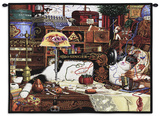 Maggie the Messmaker Wall Tapestry by Charles Wysocki