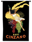 Cinzano Wall Tapestry by Leonetto Cappiello