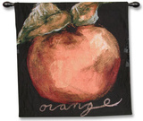 Orange Wall Tapestry by Nicole Etienne