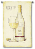 Estate Vineyards Wall Tapestry by Emily Adams
