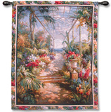 Tropical Breezeway Wall Tapestry by James Reed
