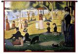 Mediodía de domingo Tapiz por Georges Seurat