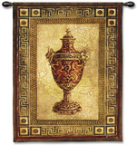 Vessel Antiquity I Wall Tapestry by Jill O'Flannery