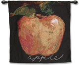 Green Apple Wall Tapestry by Nicole Etienne
