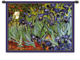 Irises, Saint-Remy, c.1889 Wall Tapestry by Vincent van Gogh