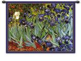 Lirios, Saint-Remy, ca. 1889 Tapiz por Vincent van Gogh