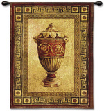 Vessel Antiquity II Wall Tapestry by Jill O&#39;Flannery