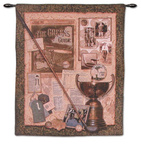 Fore I Wall Tapestry by Sally Ray Cairns