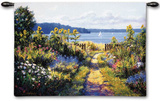 Garden View Wall Tapestry by Bruce F. Mcadam