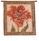 Tulip Unveiled IV Wall Tapestry by Elizabeth Jardine